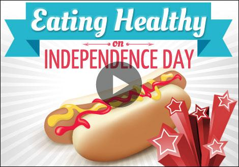 Uncle Sam wants you to follow these five quick tips for eating on the 4th of July
